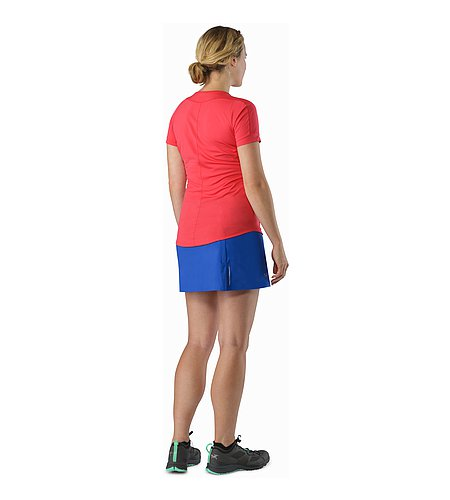 Lyra Skort Women's Somerset Blue Back View