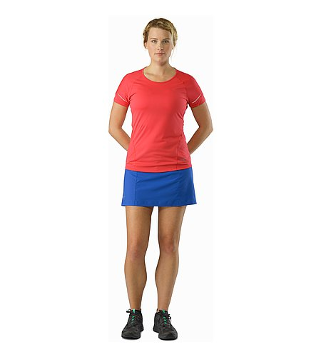 Lyra Skort Women's Somerset Blue Front View