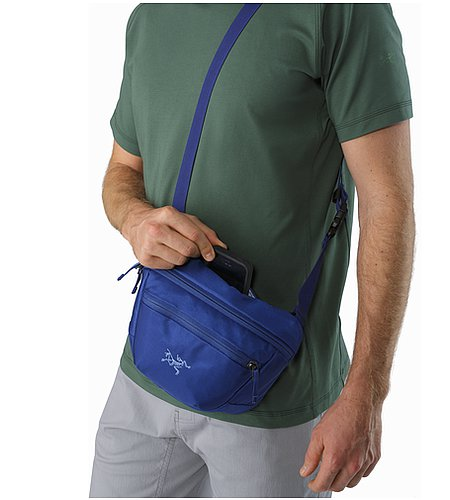 Maka 2 Waistpack Olympus Blue Back Panel Slip Pocket
