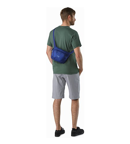 Maka 2 Waistpack Olympus Blue Back View