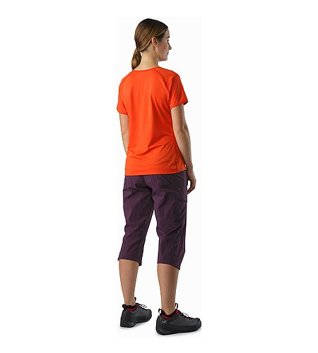 Mentum Tee SS Women's Fiesta Back View