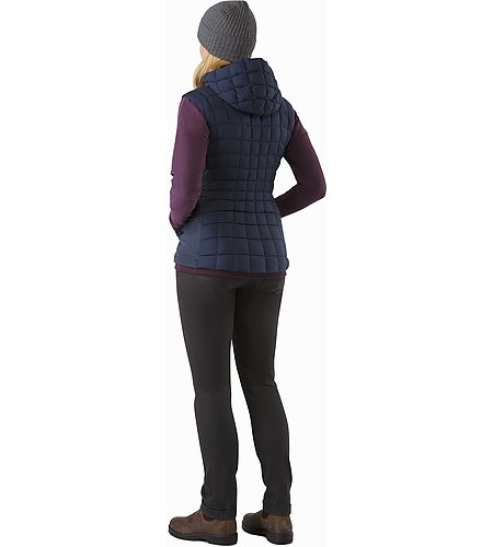 Narin Vest Women's Nighthawk Back View