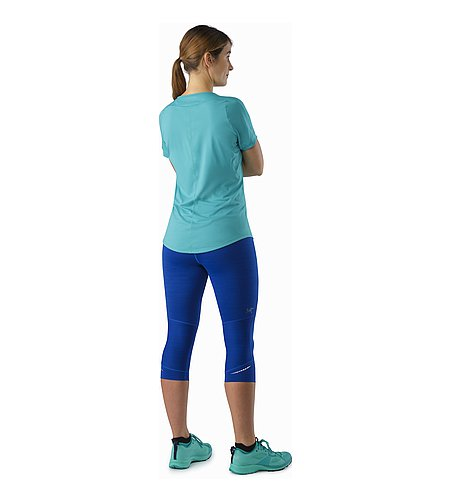 Nera 3/4 Tight Women's Somerset Blue Back View