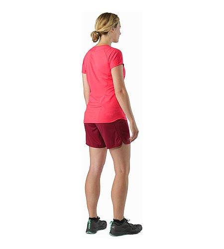 Ossa Short Women's Scarlet Back View