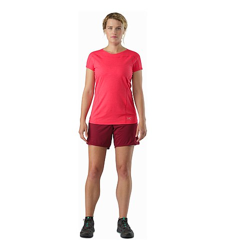 Ossa Short Women's Scarlet Front View