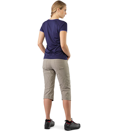 Parapet Capri Women's Lontra Back View