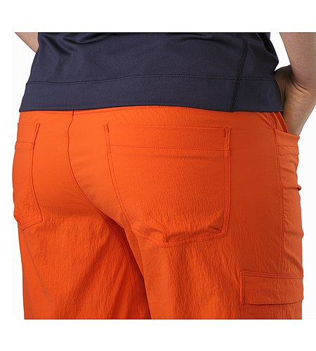 Parapet Long Women's Fiesta External Pocket Back