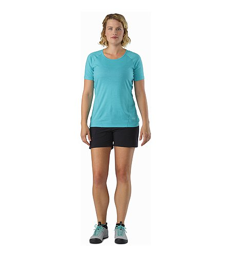 Parapet Short Women's Black Front view