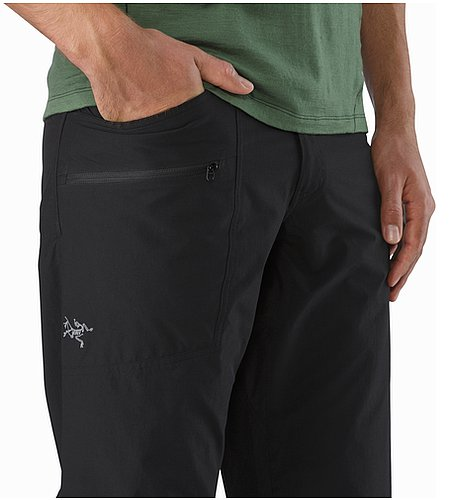 Perimeter Pant Black Hand Pockets