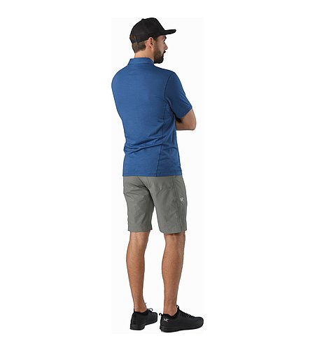 Perimeter Short Castor Grey Back View