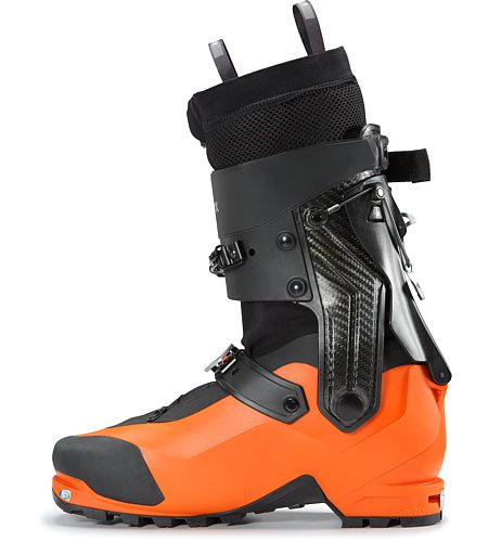 Procline Carbon Lite Boot Cayenne Internal Side View