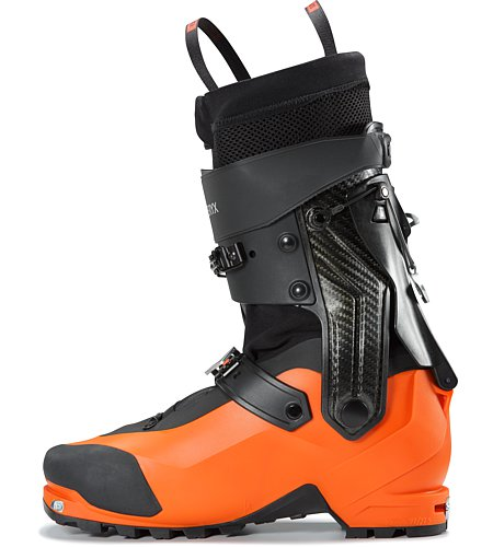 Procline Carbon Support Boot Cayenne Internal Side View