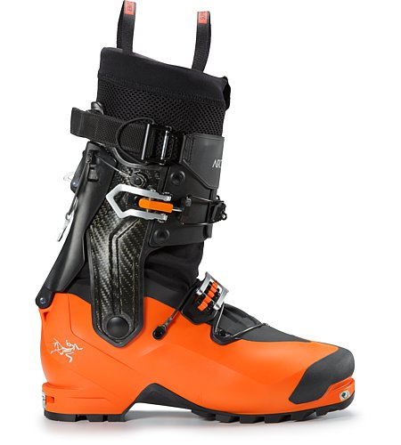 Procline Carbon Support Boot Cayenne Side View