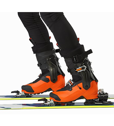 Procline Carbon Support Boot Cayenne Ski Mode