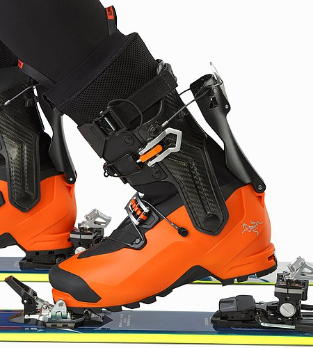 Procline Carbon Support Boot Cayenne Walk Mode Detail