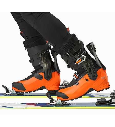 Procline Carbon Support Boot Cayenne Walk Mode