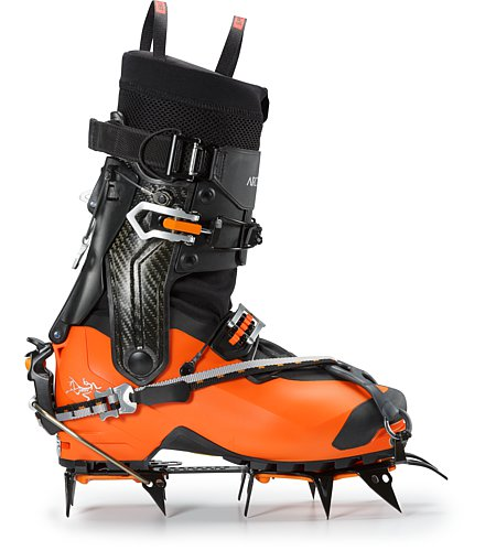 Procline Carbon Support Boot Cayenne With Crampons