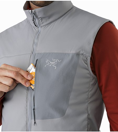 Proton LT Vest Smoke Chest Pocket