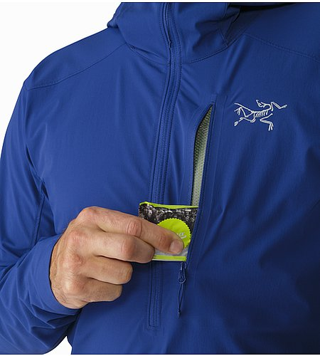 Psiphon SL Pullover Corvo Blue Chest Pocket