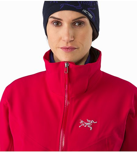 Ravenna Jacket Women's Radicchio Closed Collar