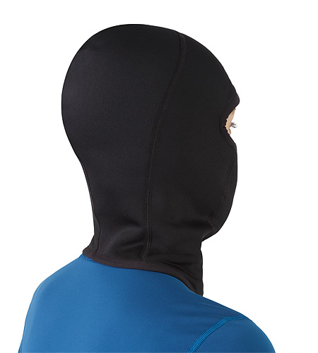 Rho AR Balaclava Black Back View 2