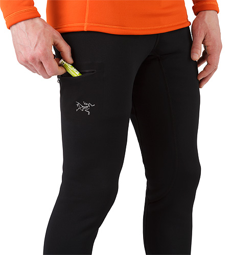 Rho AR Bottom Black Thigh Pocket
