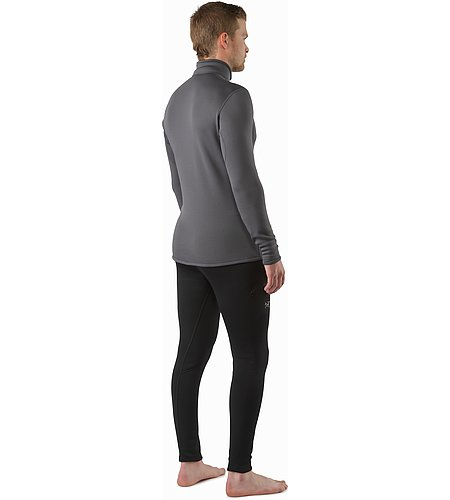 Rho AR Zip Neck Pilot Back View