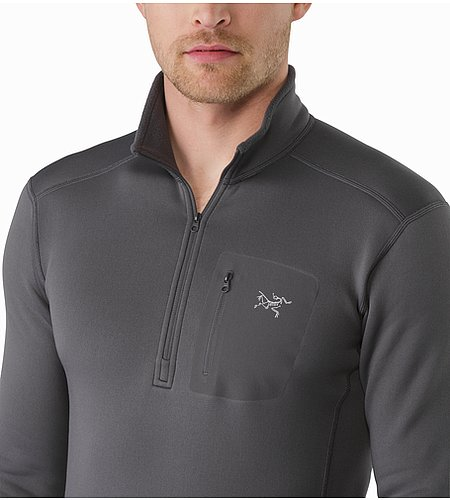 Rho AR Zip Neck Pilot Open Collar