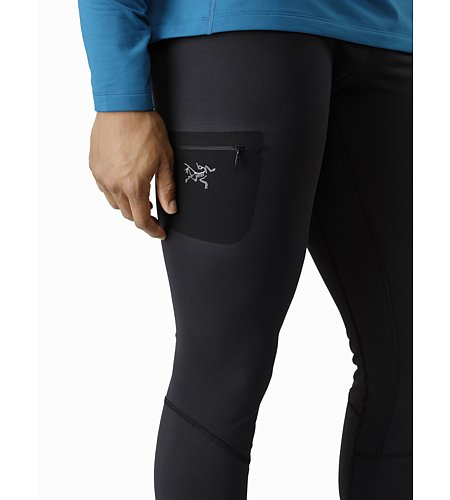 Rho LT Bottom Black Thigh Pocket