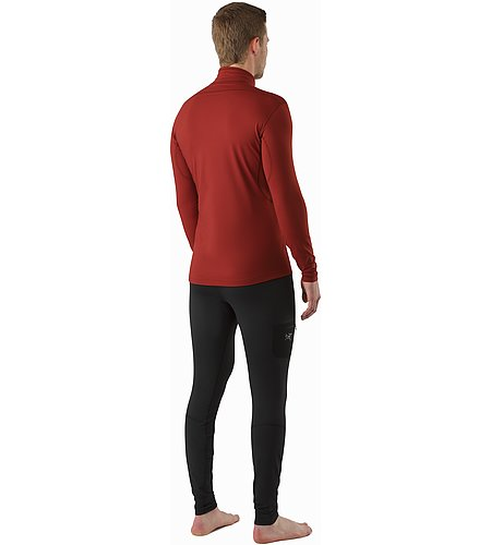 Rho LT Zip Neck Pompeii Back View