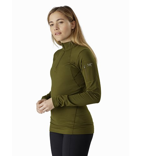 Arc'teryx Rho LT Zip Neck Women's