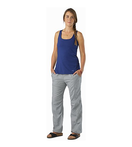 Roxen Pant Women's Smoke Front View
