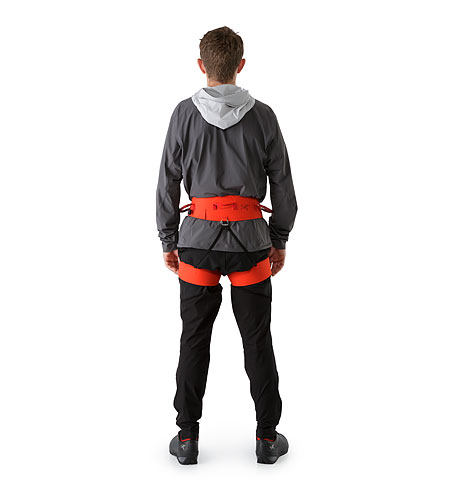 SL-340 Harness Magma Back View