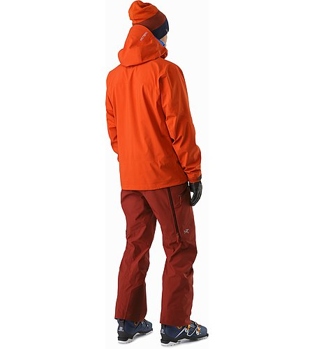 Sabre Jacket Rooibos Back View
