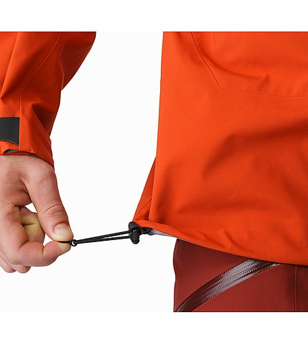 Sabre Jacket Rooibos Hem Adjuster