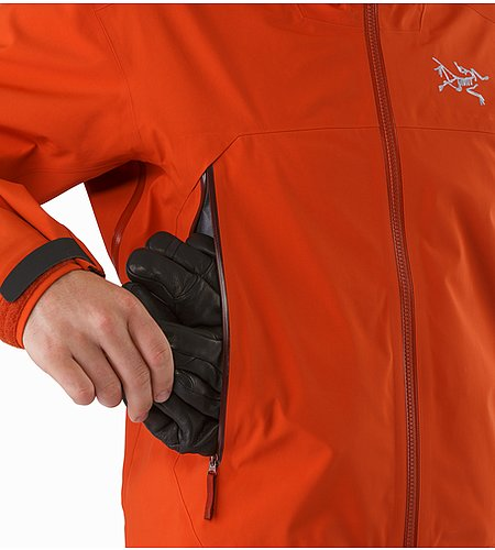 Sabre Jacket Rooibos Side Vent