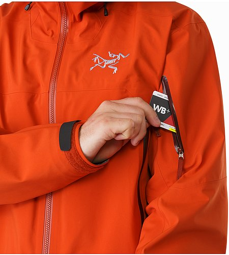 Sabre Jacket Rooibos Sleeve Pocket
