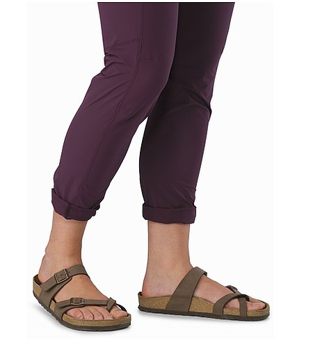 Sabria Pant Women's Purple Reign Rolled Up Cuffs