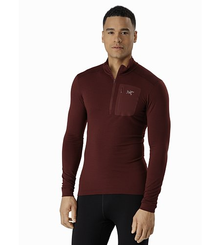 Arc'teryx Satoro AR Zip Neck Shirt LS Men's