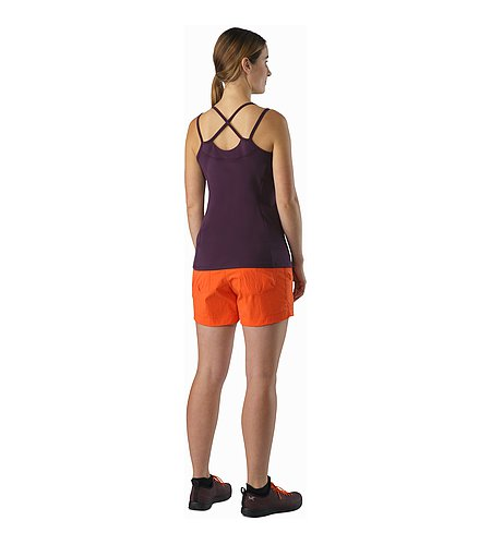 Senna Tank Women's Purple Reign Back View