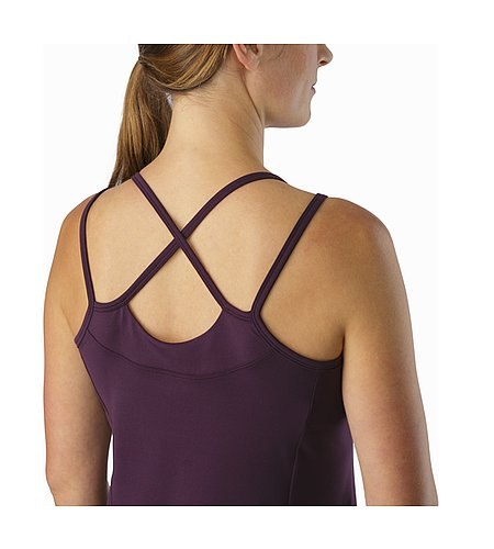 Senna Tank Women's Purple Reign Rear Straps