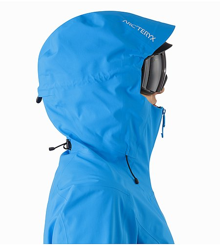 Sentinel Jacket Women's Baja Helmet Compatible Hood Side View