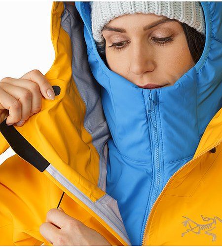 Shashka Jacket Women's Aspen Glow Hood Adjuster