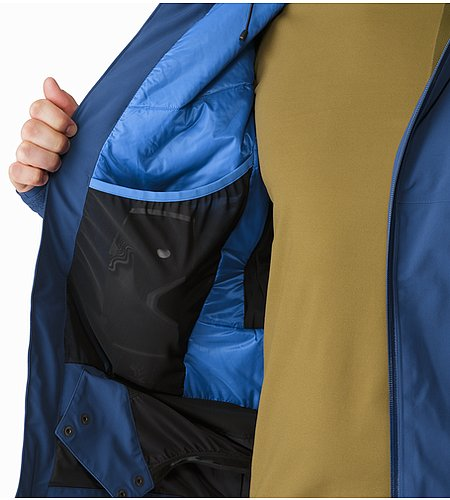 Shuksan Jacket Triton Internal Dump Pocket