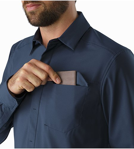 Skyline Shirt LS Nighthawk Chest Pocket