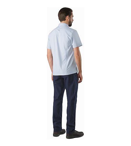 Skyline Shirt SS Vapour Back View