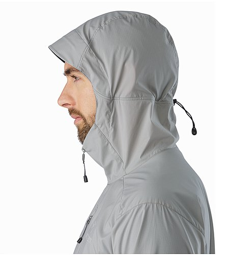 Squamish Hoody Stingrey Hood Side View