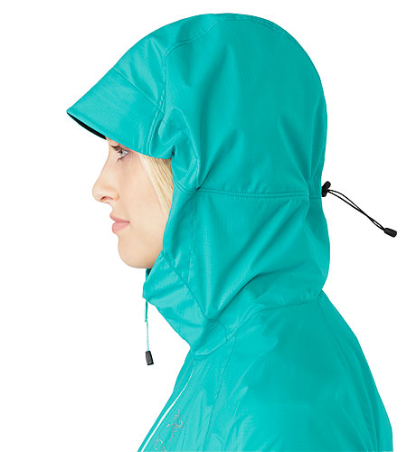 Squamish Hoody Women's Castaway Hood Side View
