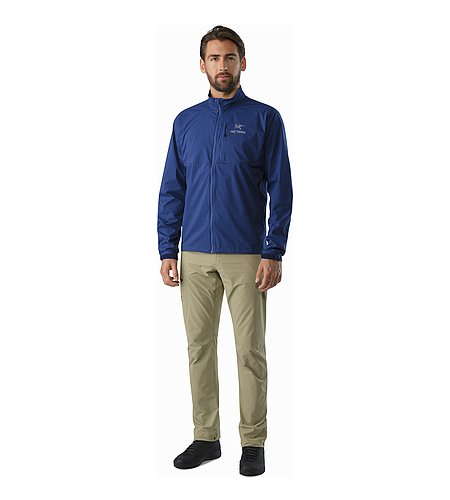 Squamish Jacket Corvo Blue Front View