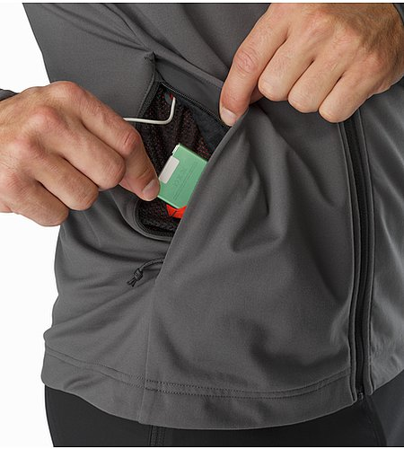 Stradium Jacket Janus External Pocket Front